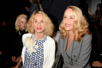 Jerry Hall Marchesa - Front Row - September 2016 - New York Fashion Week: The Shows