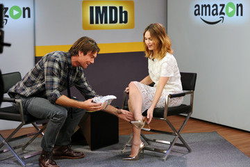 Jerry O'Connell Lily James Appears on IMDb Asks