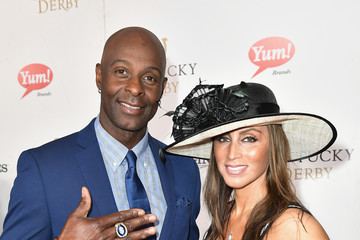 Jerry Rice 143rd Kentucky Derby - Red Carpet