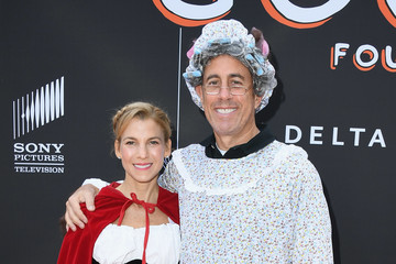 Jerry Seinfeld Jessica And Jerry Seinfeld's GOOD + Halloween Bash - Arrivals
