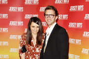 """Pia Miranda and Tim Draxl arrive at the opening night for """"Jersey Boys - The Story of Frankie Valli & the Four Seasons"""" at the Theatre Royal on September 18, 2010 in Sydney, Australia."""