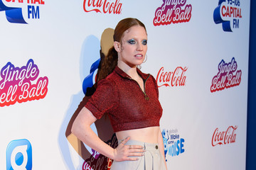 Jess Glynne Capital FM Jingle Bell Ball Day 2 - Red Carpet Arrivals