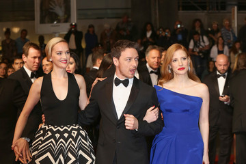 """Jess Weixler Jessica Chastain """"The Disappearance Of Eleanor Rigby"""" Premiere - The 67th Annual Cannes Film Festival"""