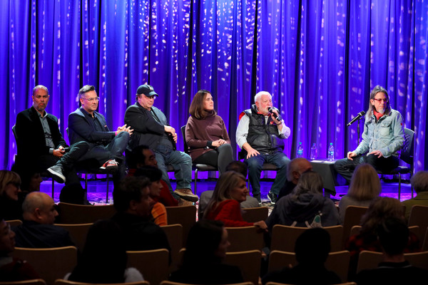 Producing The GRAMMY Awards: The Team That Makes It Happen [event,performance,convention,performing arts,academic conference,talent show,audience,concert,music,choir,jesse collins,scott goldman,ken ehrlich,raj kapoor,david wild,chantel sausedo,the grammy awards,grammy museum,team,producing the grammy awards,convention,public relations,audience,academic conference,purple,public,academy]