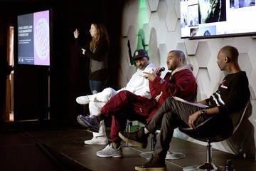 Jesse Williams 2020 Sundance Film Festival - Digital Aerosol And The Re-Imaginarium: A Fireside Chat With Kahlil Joseph And Jesse Williams Panel