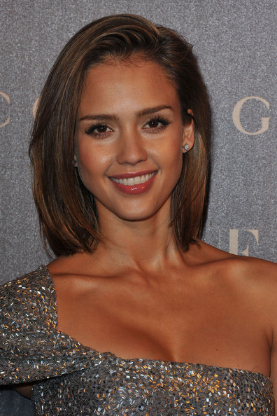 Jessica Alba Jessica Alba attends the Vogue Paris Dinner hosted by Carine
