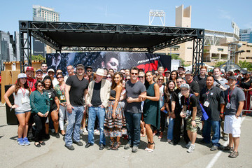"""Jessica Alba Robert Rodriguez """"SIN CITY: A DAME TO KILL FOR"""" Experience At Comic-Con 2014"""