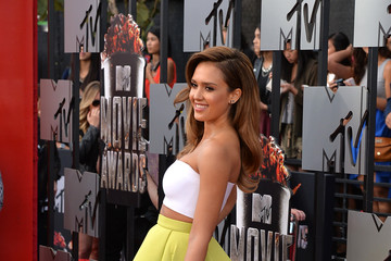 Jessica Alba Arrivals at the MTV Movie Awards — Part 2