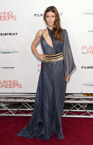 "Jessica Biel - Film District And Chrysler With The Cinema Society Premiere Of ""Playing For Keeps"" - Arrivals"