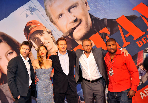'The A-Team' Germany Preview [the a-team,preview,red,social group,event,youth,premiere,fun,photography,team,crowd,joe carnahan,actors,quinton rampage jackson,sharlto copley,lieam neeson,jessica biel,l-r,germany]