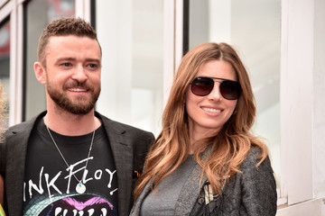 Jessica Biel NSYNC Honored With Star On The Hollywood Walk Of Fame