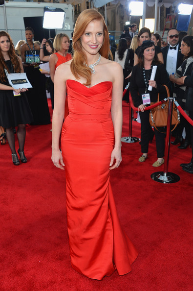 Jessica Chastain - 19th Annual Screen Actors Guild Awards - Red Carpet