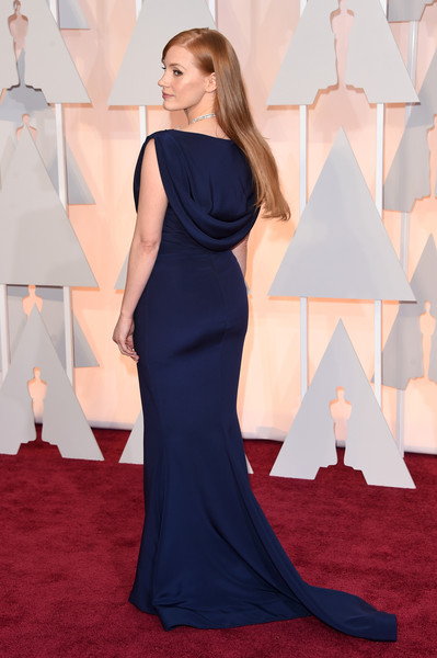 Jessica Chastain - Arrivals at the 87th Annual Academy Awards — Part 3