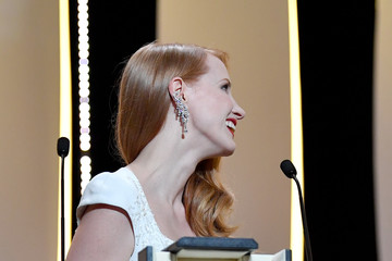 Jessica Chastain Closing Ceremony - The 70th Annual Cannes Film Festival