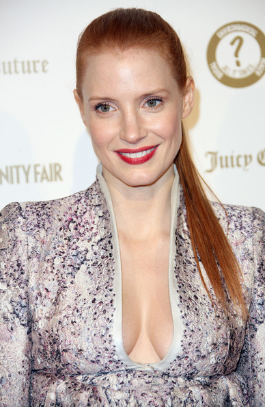 "Jessica Chastain - Vanity Fair And Juicy Couture ""Vanities"" 20th Anniversary - Arrivals"