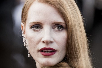 Jessica Chastain Closing Ceremony Red Carpet Arrivals - The 70th Annual Cannes Film Festival