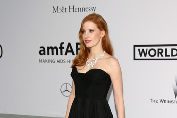 Jessica Chastain Arrivals at the Cinema Against AIDS Gala