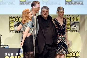 Jessica Chastain The Legendary Pictures Panel at Comic-Con International 2015