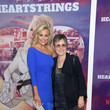 """Jessica Collins Netflix Premiere Of Dolly Parton's """"Heartstrings"""""""
