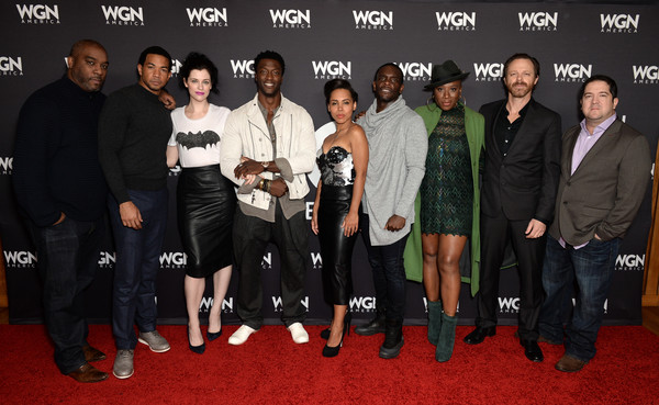 Stars of WGN America's 'Salem,' 'Outsiders,' and 'Underground' Attend the Network's Cocktail Reception During New York Comic Con 2016