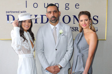 Jessica Gomes Celebrities Attend Caulfield Cup Day
