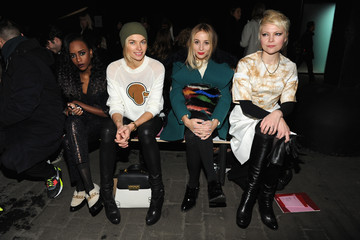 Jessica Hart Front Row at the 3.1 Phillip Lim Show