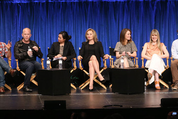 Jessica Lange Frances Conroy 'American Horror Story' Cast Honored at PaleyFest