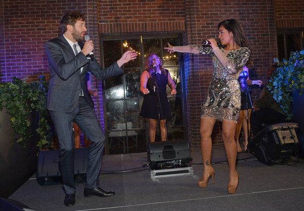 'The Sapphires' Screening in NYC [the sapphires,event,performance,performing arts,musician,talent show,performance art,music,musical ensemble,chris o dowd,jessica mauboy,hudson commons,new york city,party,new york screening,screening,party]