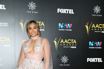 Jessica Mauboy 6th AACTA Awards Presented by Foxtel | Red Carpet Arrivals