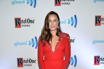 Jessica McNamee Ketel One Vodka Hosts The VIP Red Carpet Suite At The 26th Annual GLAAD Media Awards