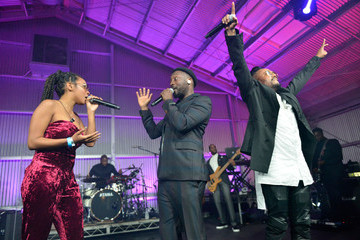 Jessica Reynoso will.i.am's i.am.angel Foundation TRANS4M 2018 Gala, Honoring Sean Parker, Chairman, Parker Institute for Cancer Immunotherapy