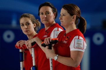 Jessica Schultz World Women's Curling Championship - Day Nine