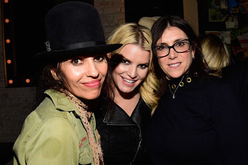Jessica Simpson Linda Perry Celebration for the Song 'Hands of Love' from the Film 'Freeheld'