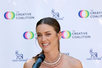 Jessica Stroup The Creative Coalition's 7th Annual Television Humanitarian Awards - Show