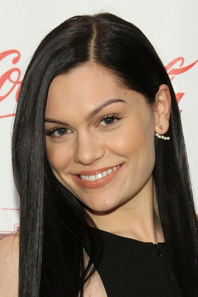 Backstage at the Z100 & Coca-Cola All Access Lounge  [hair,eyebrow,face,hairstyle,forehead,black hair,chin,lip,nose,cheek,jessie j,all access lounge,new york city,hammerstein ballroom,z100,coca-cola,jingle ball 2014,pre-show]
