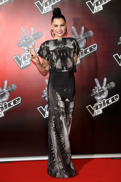 Jessie J Jessie J attends the launch of 'The Voice UK' at Soho Hotel on February 24, 2012 in London, England.
