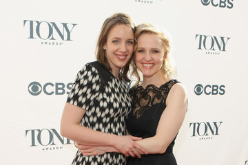 Jessie Mueller Anika Larsen Arrivals at the Tony Honors Cocktail Party