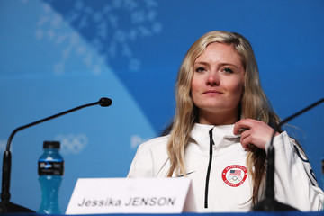 Jessika Jenson Previews - Winter Olympics Day -3