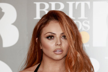 Jesy Nelson The BRIT Awards 2017 - Red Carpet Arrivals