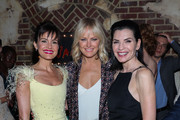 """(L-R) Actors Carla Gugino, Malin Akerman and Julianna Margulies attend the New York screening of  """"Jett""""  at The Roxy Hotel on June 11, 2019 in New York City."""