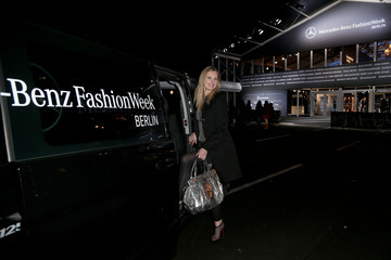 Jette Joop Guido Maria Kretschmer Arrivals - Mercedes-Benz Fashion Week Autumn/Winter 2013/14
