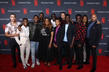 Jharrel Jerome Ethan Herisse Netflix 'When They See Us' FYSEE Event