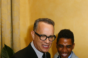 Jharrel Jerome Guests Attend a Party Honouring Tom Hanks Hosted by US Embassy