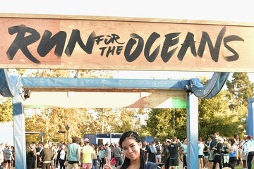 Jhene Aiko adidas x Parley Harness The Power Of Sport And Continue Fight Against The Threat Of Marine Plastic Pollution; Hosting 'Run For The Oceans' event at Temescal Park in Los Angeles, CA