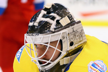 Jhonas Enroth World Cup of Hockey 2016 - Sweden v Russia