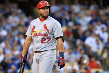Jhonny Peralta St Louis Cardinals v Los Angeles Dodgers