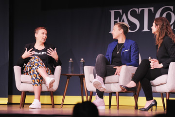 Jill Bernstein Fast Company Innovation Festival - Soccer Star and Activist Abby Wambach and Nike's Hannah Jones on Challenging the Status Quo