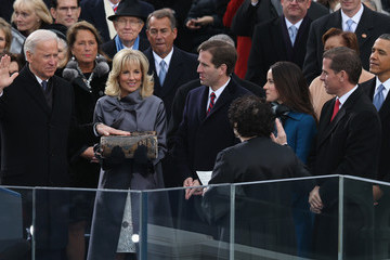 Jill Biden Barack Obama Sworn In As U.S. President For A Second Term