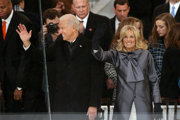 Jill Biden Inaugural Parade Held After Swearing In Ceremony