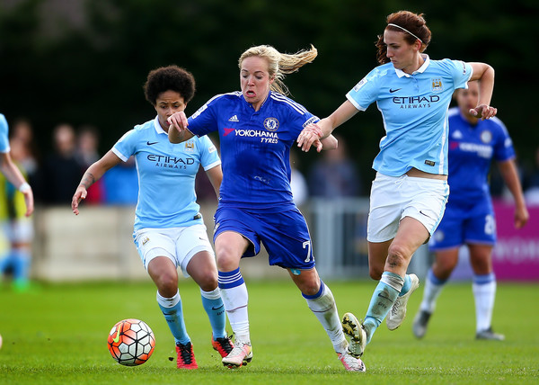 Chelsea Ladies FC v Manchester City Women - SSE Women's FA Cup Semi-final